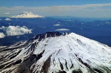 USA: Luftaufnahme des Vulkan Mount Saint Helens