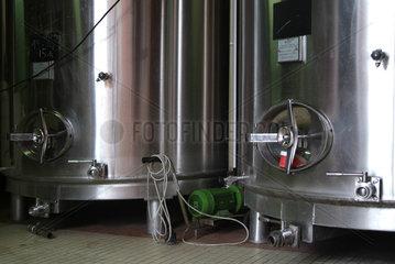 Champagnerproduktion in der Region Reims