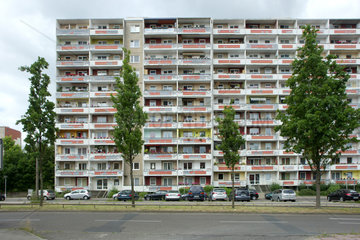 Plattenbauten in Frankfurt (Oder)