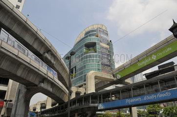 Thailand: Skytrain in Bangkok
