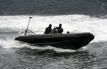 Uebung der Bundesmarine