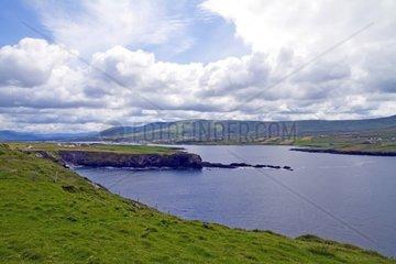 Kueste Halbinsel Dingle  Irland