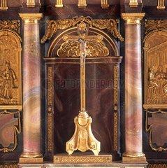 Tabernakel im ehemaligen Benediktinerkloster Wiblingen