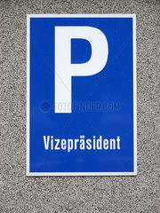 Parkplatz Vizepraesident  Ermekeilkaserne Bonn
