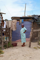 Nyanga  Township bei Kapstadt