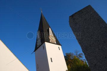 Kirchturm in Fellheim