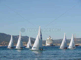 Segelregatta in Cannes