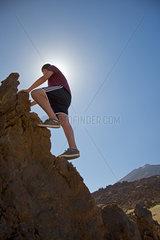 Bergsteigen auf Teneriffa