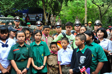 THAILAND-CHIANG RAI-MALES TRAPPED IN CAVE-RESCUE