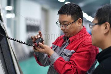 CHINA-HEILONGJIANG-ENTREPRENEUR-FLIGHT SIMULATION-AVIATION (CN)