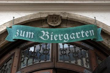Biergarten Muenchen Hofbraeuhaus