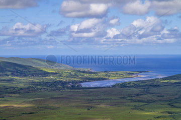 Connor Pass  Halbinsel Dingle  County Kerry  Irland