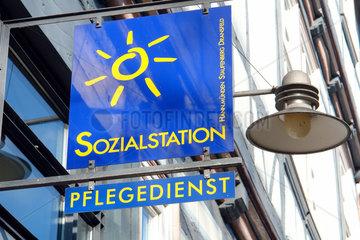 Finanznot bei den Kommunen  Sozialstation