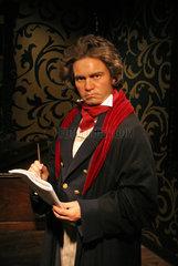 Berlin  Deutschland  Wachsfigur von Ludwig van Beethoven bei Madame Tussauds