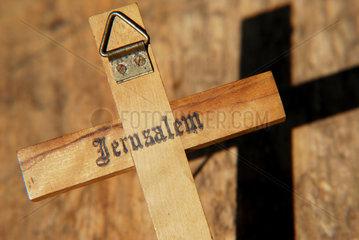 Holzkreuz aus Jerusalem