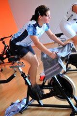 Spinning im Fitness - Studio