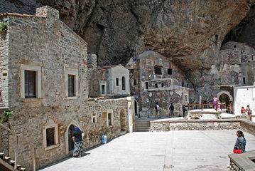 Kloster Sumela nahe Trabzon in der Tuerkei