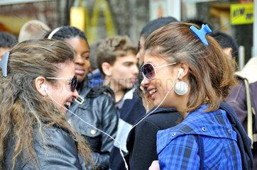 Zwei New Yorker Teenager