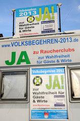 Wahlkampf 2013 der 'Bayernpartei'