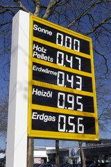 Energietraegerkosten