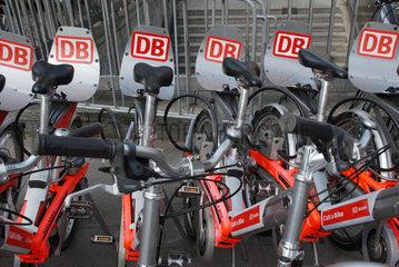 Leihfahrraeder der DB