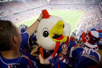 WM 2006 Vorrunde  Franzoesische Fans