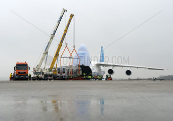 Verladung Bombardier