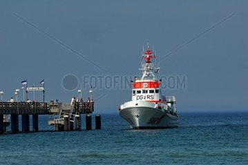 Schiff der Deutschen Gesellschaft zur Rettung Schiffbruechiger