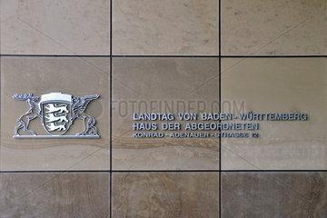 Landtag Baden-Wuerttemberg  Haus der Abgeordneten