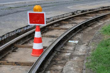 Baustelle Wendeschleife Strassenbahn