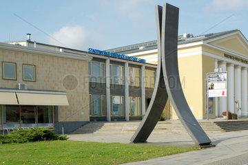 Stahlskulptur in Eisenhuettenstadt