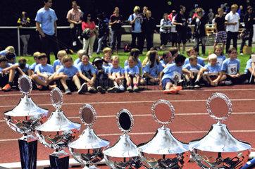 Talentiade  Leichtathletikfest und Talentsichtung fuer Jugendliche und Kinder
