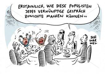 Populismus : Spalter der demokratischen Gesellschaft