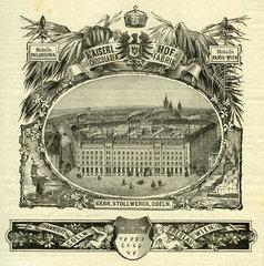 Schokoladenfabrik Gebrueder Stollwerck  1877