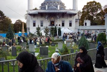 Berlin  Deutschland  Sehitlik Moschee in Berlin Neukoelln