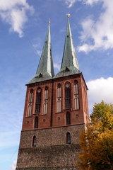 Tuerme der Nikolaikirche