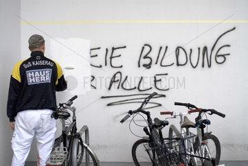 TU Dortmund Bildungsstreik 2009