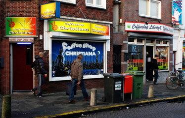 Coffeeshops in den Niederlanden