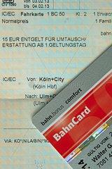 Bahncard 50 Comfort