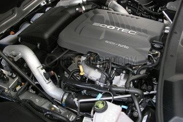 Motorraum Opel GT