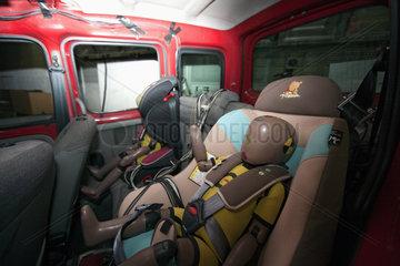 Crashtest mit Kindersitzen