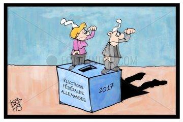 Elections federales allemandes