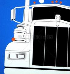LKW Truck von vorne