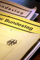 Akten des Deutschen Bundestags