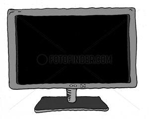 Fernseher ausgeschaltet