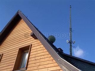 Fernsehsender Oelberg im Siebengebirge