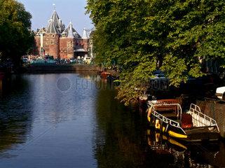 Niederlande. Amsterdam. Alte Waage