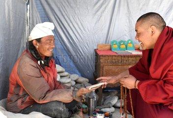 CHINA-TIBET-RONGPU MONASTERY-BUDDHISM-LIFE(CN)