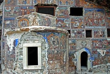 Kloster Sumela nahe Trabzon in der T__rkei