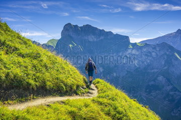 Bergwandern in den Allgaeuer Alpen